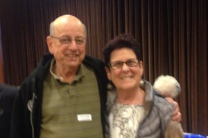 We were happy to see so many Seacrest residents at our afternoon ice cream social and movie. Pictured: chairperson, Cynthia Birnbaum with husband Arthur