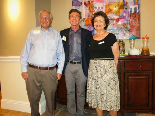 Harold Halpern, Stephen McCauley, and Susan Halpern