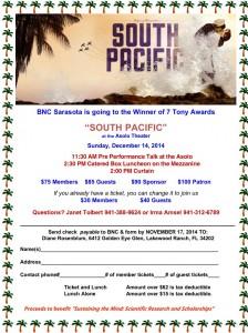 South Pacific Redo