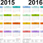 2015 2016 calendar
