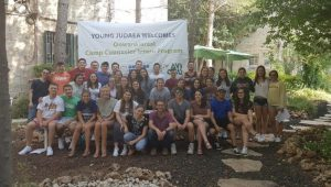 Group photo of Onward Israel program participants