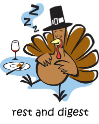 rest and digest turkey