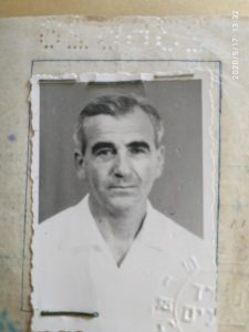 Photo of Józef Bickels (from a private family collection of Ori Bickels)