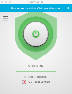 Screenshot of VPN