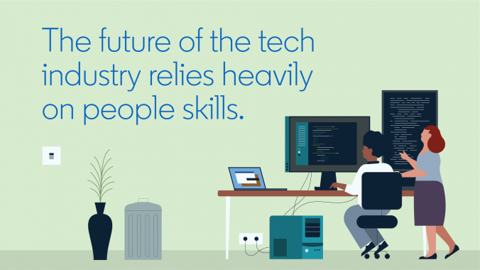 The future of the tech industry relies heavily on people skills