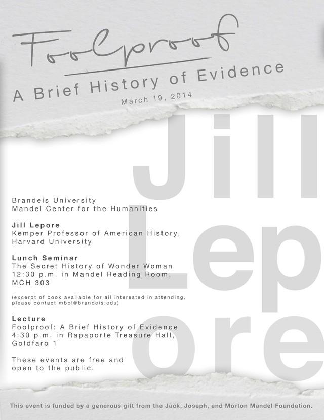 Lepore Lecture