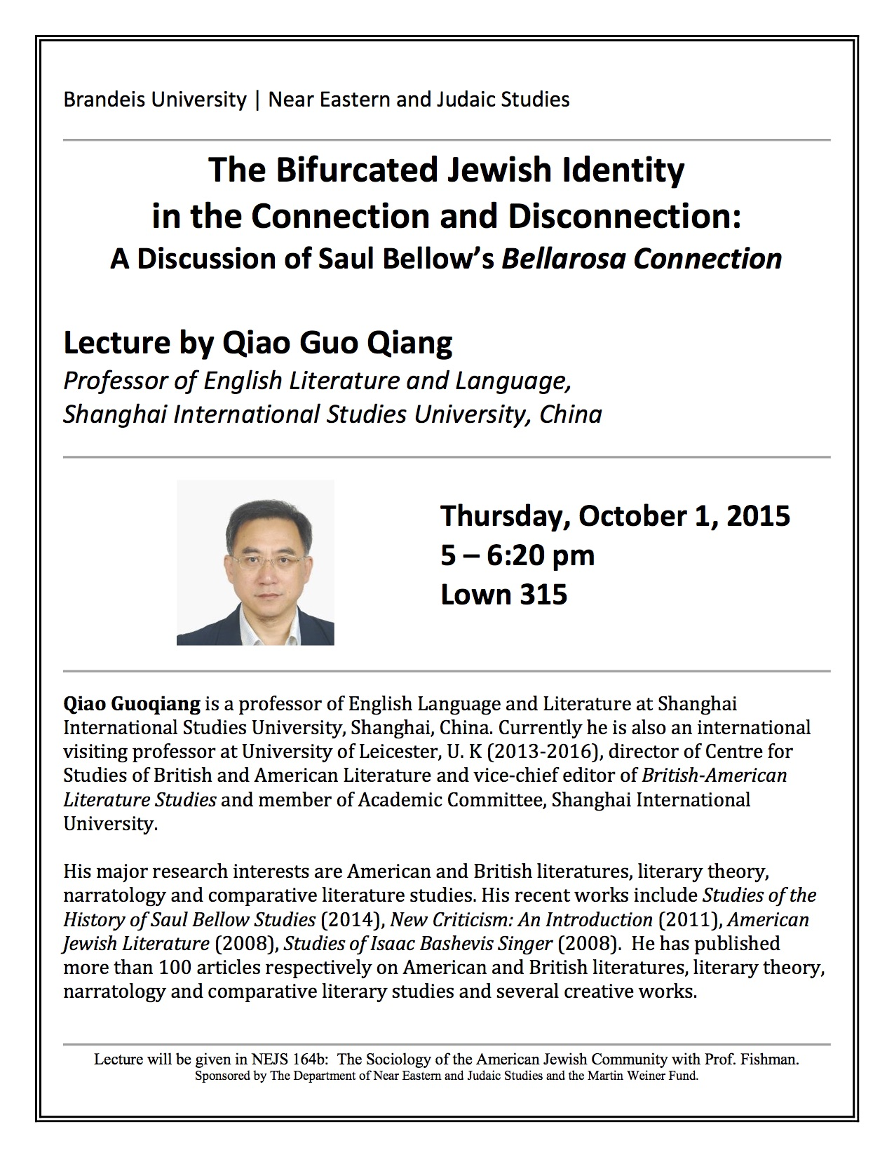 Qianglecture Poster