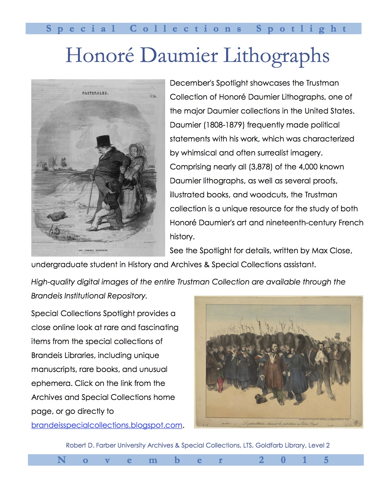 Daumier flyer