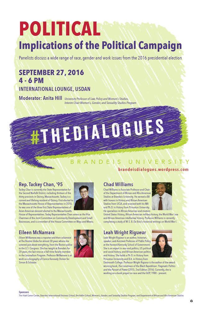 Brandeis Dialogues