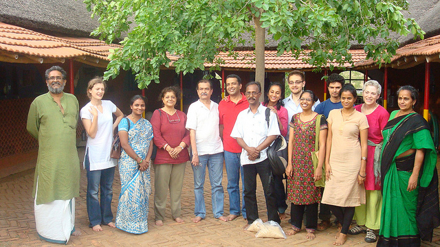 Aneil Tripathy '12 with the Nutrition Initiative, Ashoka Foundation