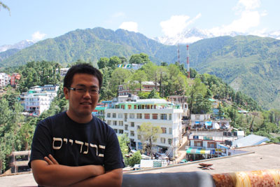 McLeod Ganj, where the Tibetan Government in Exile is located