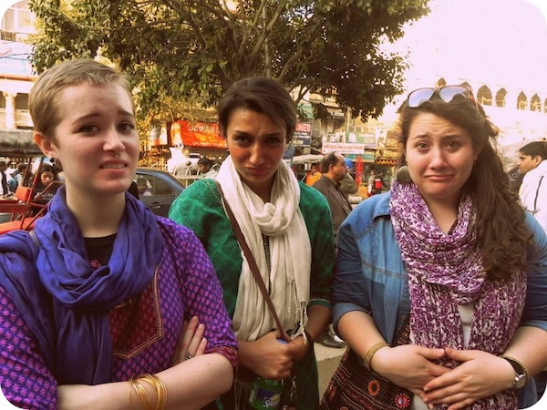 "Our first time dealing with ""Delhi Belly"""