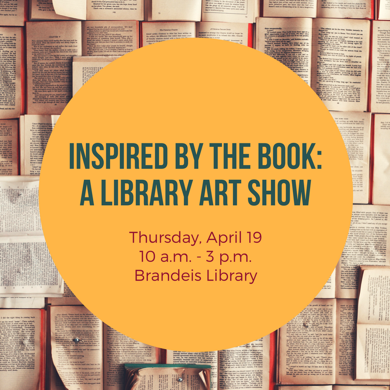 Registration Open for Inspired by the Book: A Library Art