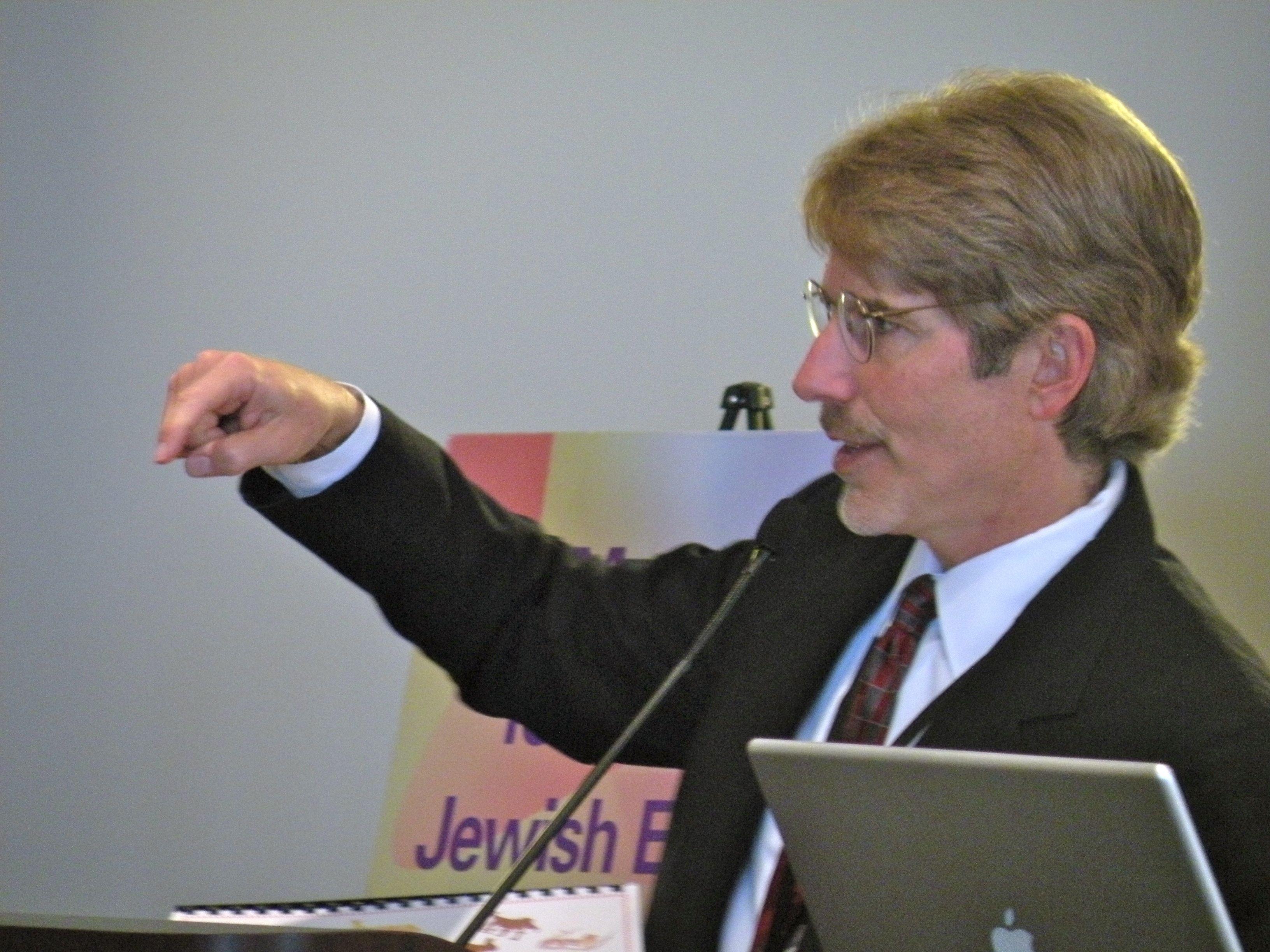 Ron Berger at the Mandel Center Teacher Forum