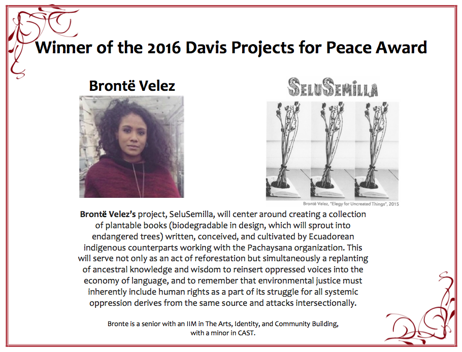 Davis Award 2016