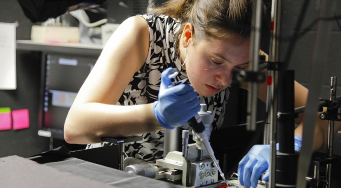 So you want to work in a lab? Abby Knecht '15 offers some advice