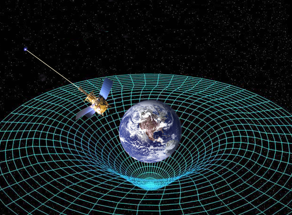 Einstein's general relativity reimagined gravity not as force, as Newton described it, but as space curved by matter, through which matter travels.