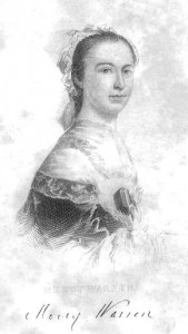 "Mercy Otis Warren, the subject for whom Ellet felt her ""deepest admiration,"" according to Carol Berkin"