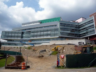 new Brandeis science building