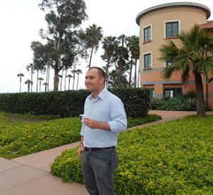 Cesar Agon at Kavli Institute