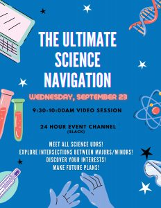 Ultimate Science Navigation poster
