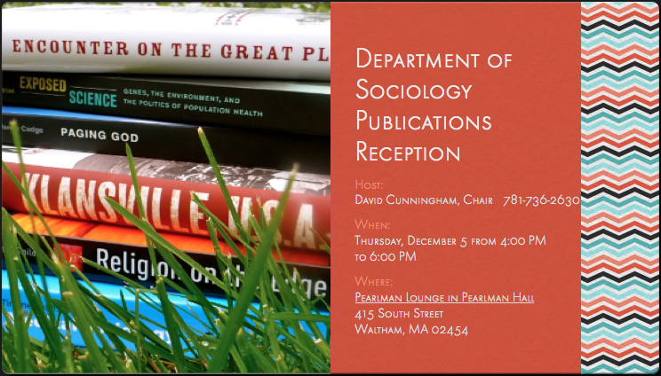 Publications Reception Invitation