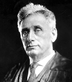 Louis Brandeis, the first Jewish person to serve on the U.S. Supreme Court and the namesake of Brandeis University.