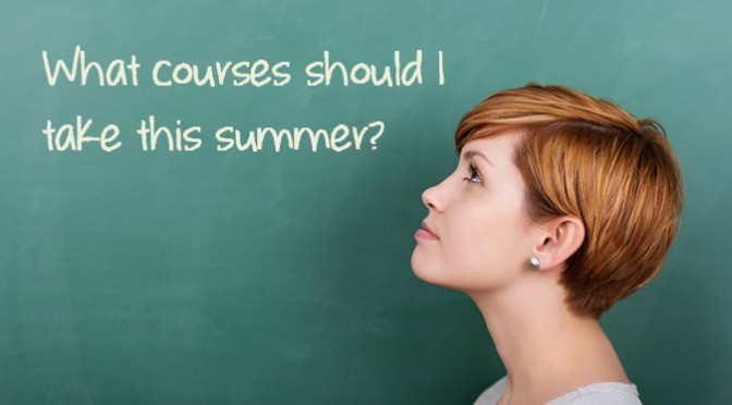How to Effectively Plan for Summer Session 2015