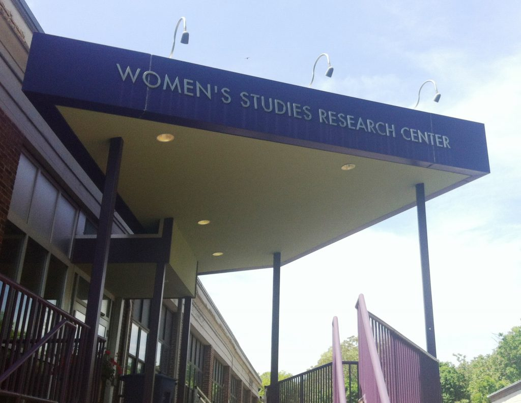 Photo of the Women's Studies Research Center building at Brandeis University
