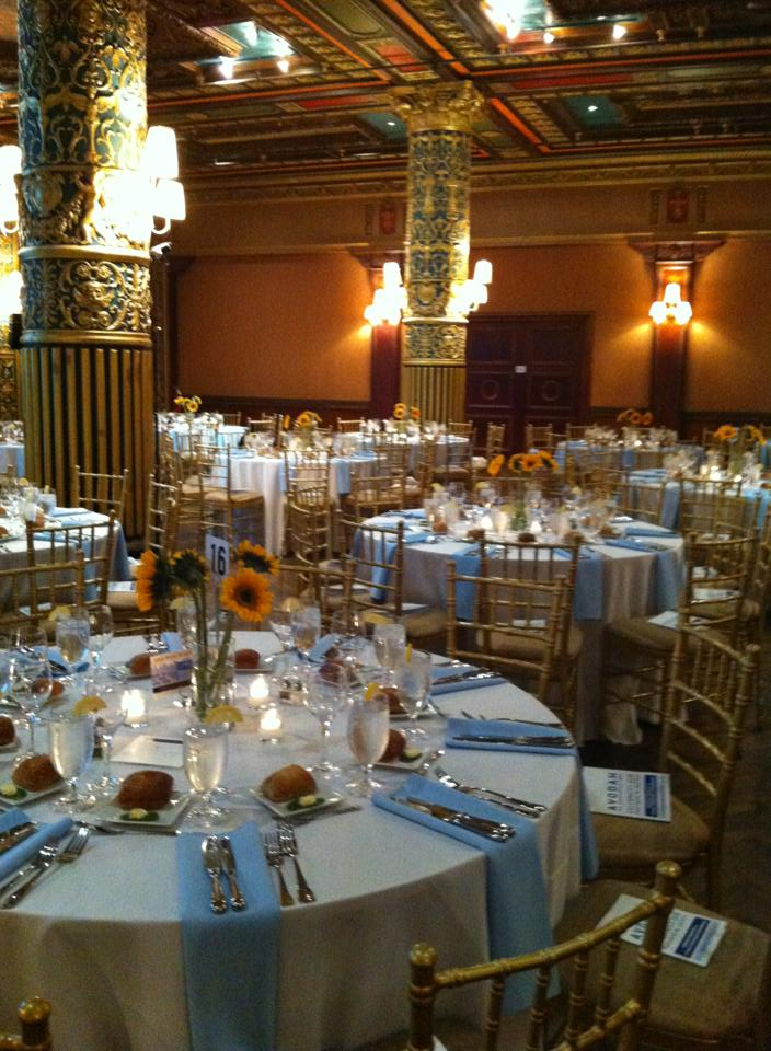 Gorgeous event set-up at the Prince George!