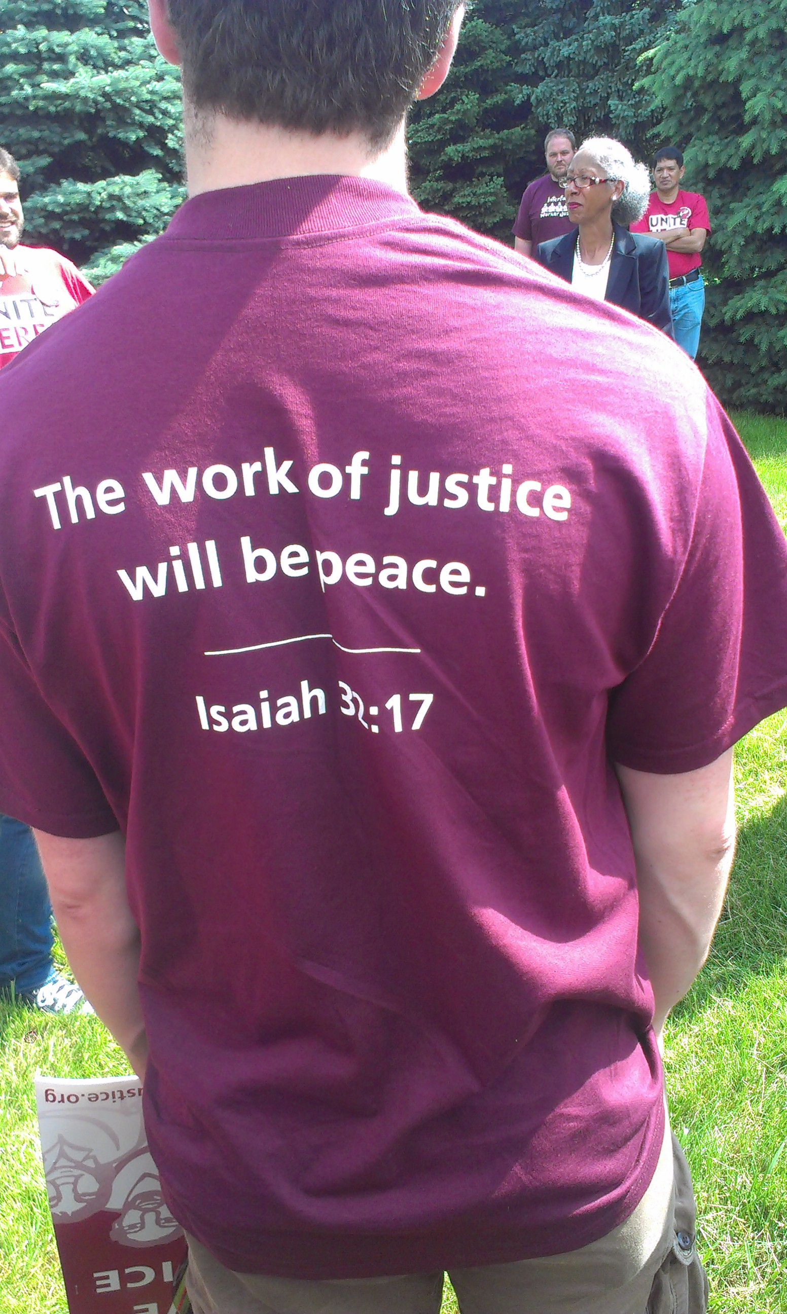 IWJ Shirt, Quote from Isaiah