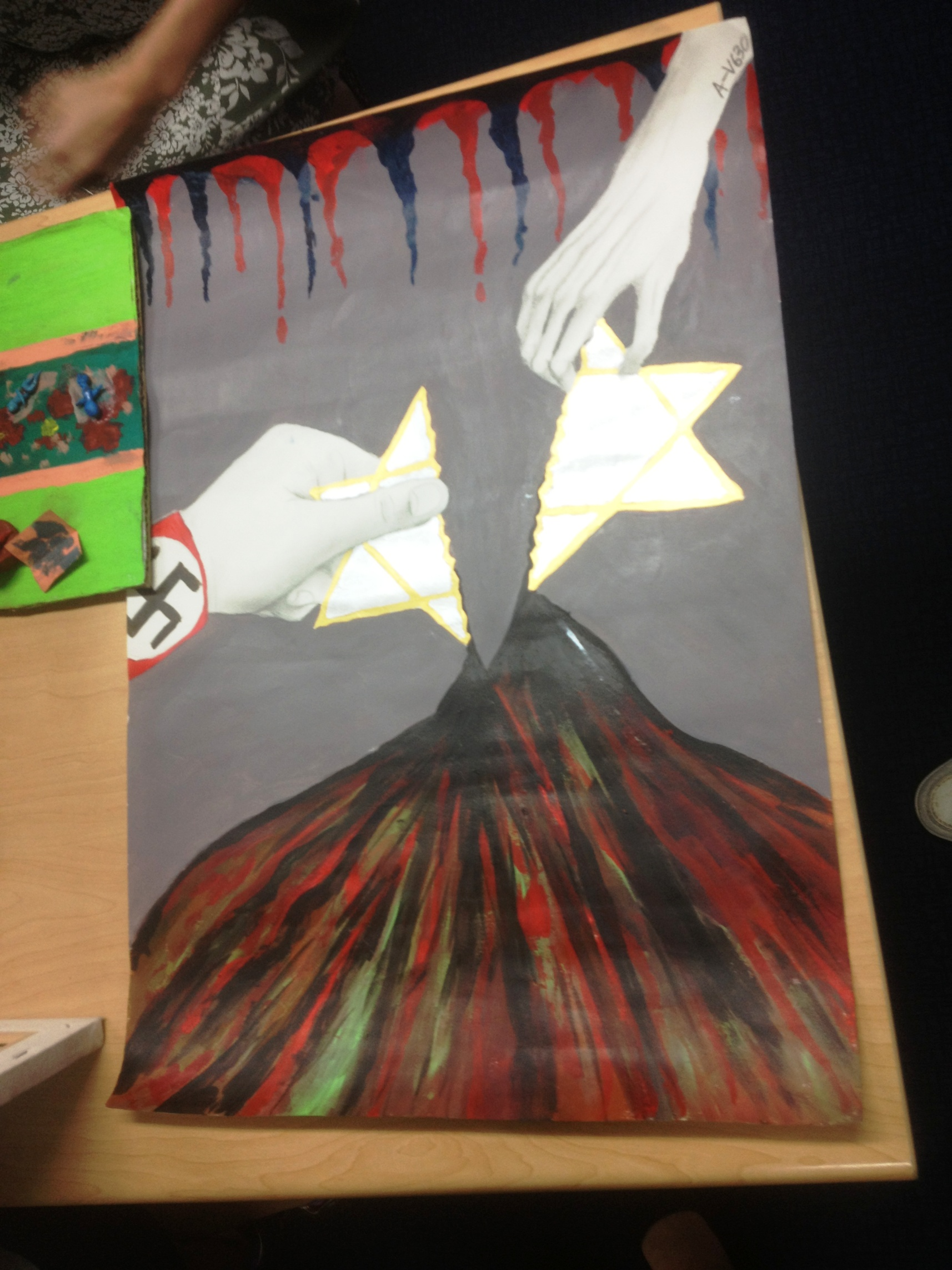 The Holocaust - Through the artwork of a ninth-grade student in Sha Tin College in Hong Kong