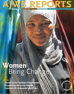 "The cover of a publication included in the ""Women and Girls"" issue folder."