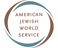 This is the logo for American Jewish World Service.