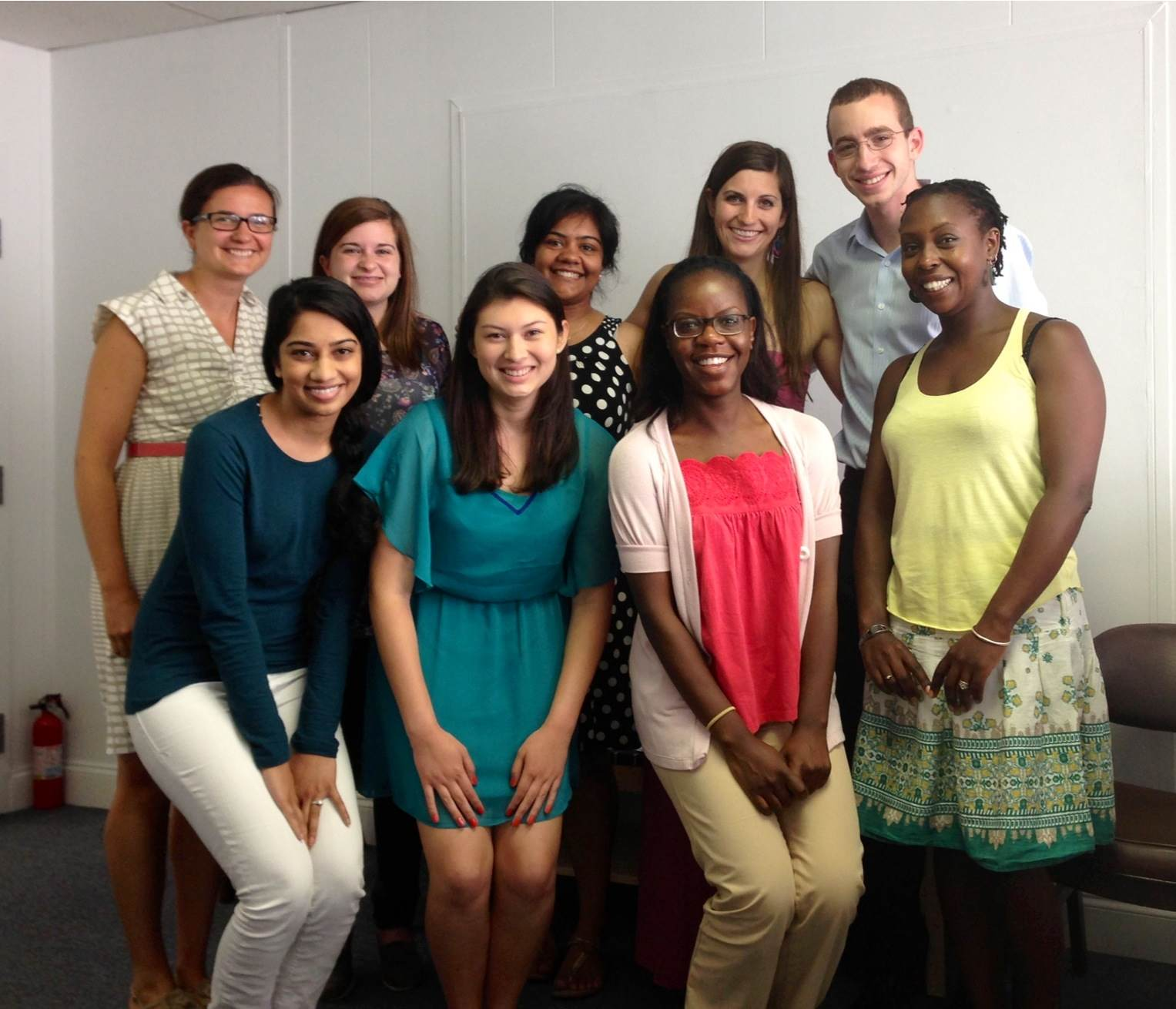FIMRC Interns and Staff at HQ
