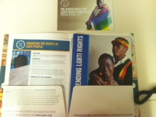 These are a few of the publications in the LGBTI/Sexual Health and Rights issue packet I'm creating.