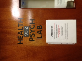 Brandeis Health Psych Lab! Where the magic happens. In the bottom floor of Brown.