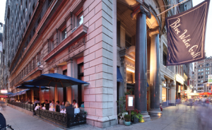 BLue Water Grill is located in Union Square, it is also the location for our weekly orientations