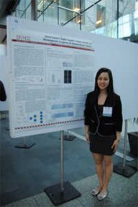 Presenting the Aging Project at the New England Science Symposium, April 2014