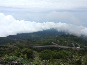 At the tallest point on Bioko Island- El Pico.