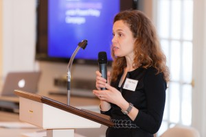 Kelly Turley - my supervisor - Director of Legislative Advocacy, Mass Coalition for the Homeless speaking at the 10th annual Forum on Family Homelessness sponsored by Advocacy Network to End Family Homelessness & Cooperative Metropolitan Ministries, at Trinitarian Congregational Church in Concord, MA