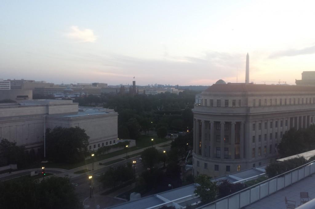 Newseum View