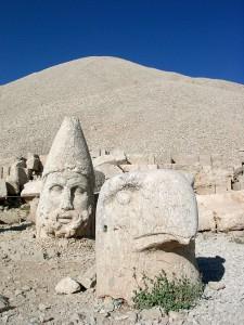 """Mount Nemrut"". Licensed under CC BY-SA 2.0 via Wikimedia Commons"