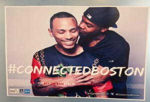 The #ConnectedBoston Campaign is a collaboration between Fenway Health and AAC to reach out to black and brown gay, bisexual, and queer men in the Greater Boston area. The campaign emphasizes the benefits of connecting holistic health resources.