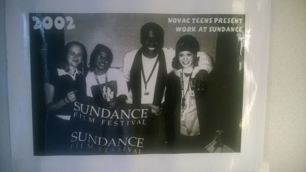 NOVAC's teen members presenting their work at the Sundance Film Festival!