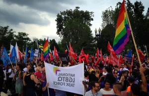 Hundreds of people gathered at the Supreme Court on June 26th waiting anxiously for the ultimately monumental decision handed down on marriage equality.