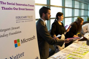 The SIF Social Innovator Showcase attracts 300 Boston area business leaders, funders, and individual philanthropists