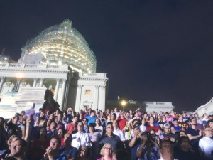 An exciting July 4th in our nation's capital while on our nation's Capitol.
