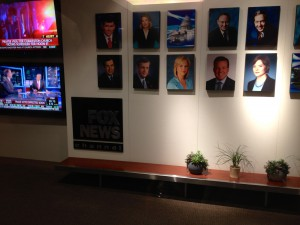 "Lobby at the Fox News headquarters in DC, where my boss spoke about the benefits of the new ""female viagra"" drug"