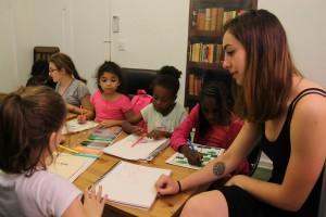 Teaching Writopians in a graphic noveling class